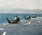 UH-34Ds of HMM-163 on USS Pronceton (LPH-5) in 1963.jpg