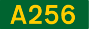 A256 road shield