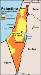 UN partition plan, 1947