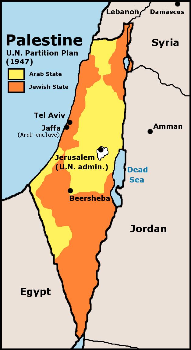 UN Partition Plan Palestine