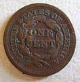 USA, 1850 -LARGE CENT b - Flickr - woody1778a.jpg