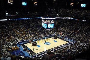 Talking Stick Resort Arena - Then-US Airways Center interior in 2008