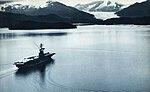 USS Bennington (CVS-20) off Alaska, in August 1963.jpg