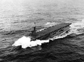 USS <i>Bismarck Sea</i> Casablanca-class escort carrier of the US Navy
