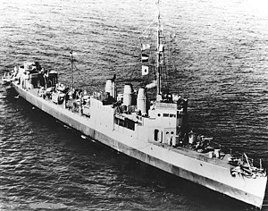 USS Boggs (AG-19) in June 1945 (NH 81406)