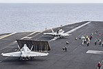 USS Harry S. Truman conducts flight operations. (26834135673).jpg