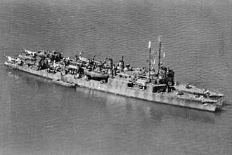 USS Humphreys (DD-236) - USS Humphreys (APD-12) and USS Sands (APD-13) at Townsville in May 1943.