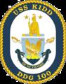 USS Kidd DDG-100 Crest.png