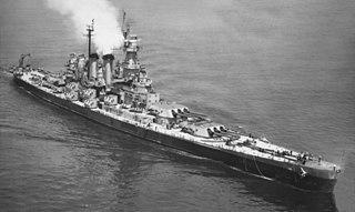 USS <i>North Carolina</i> (BB-55) lead ship of North Carolina-class battleships