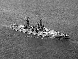 USS Pennsylvania (BB-38) - Pennsylvania during a fleet review on 4 June 1927