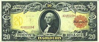 United States twenty-dollar bill - Series 1905 $20 gold certificate