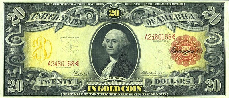 File:US $20 1905 Gold Certificate.jpg