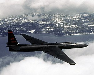 9th Reconnaissance Wing - U-2 Dragon Lady 80-1080 from the 9th Reconnaissance Wing