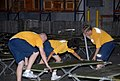 US Navy 080831-N-2468S-001 Seabees set up cots to prepare for Hurricane Gustav.jpg