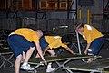 US Navy 080831-N-2468S-001 Seabees set up cots to prepare for Hurricane Gustav.jpg