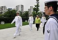 US Navy 090703-N-8273J-174 Chief of Naval Operations (CNO) Adm. Gary Roughead participates in a wreath laying ceremony during a visit to Ichigaya in Tokyo.jpg