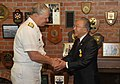 US Navy 090705-N-8273J-043 Chief of Naval Operations (CNO) Adm. Gary Roughead thanks Mr. Yoshiro Ito after presenting Mr. Ito with the Distinguished Public Service Award.jpg