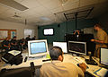 US Navy 100607-N-1841C-006 A group of midshipmen learn about the Virtual Environment Submarine Trainer at the Trident Training Facility at Naval Submarine Base Kings Bay.jpg