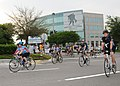 US Navy 110409-N-DD445-003 Participants in the 2011 Soldier Ride peddle through Jacksonville to support the Wounded Warrior Project.jpg