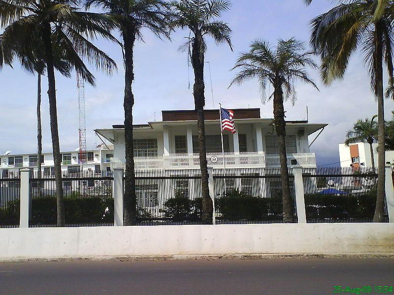 US embassy in Libreville.JPG