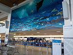 United Airlines Check-in counter at Antonio B. Won Pat International Airport.JPG