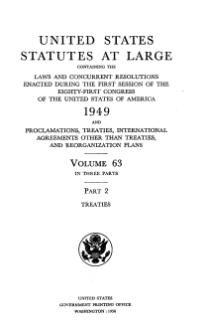 United States Statutes at Large Volume 63 Part 2.djvu