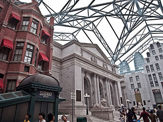 Universal Studios Singapore - New York Public Library