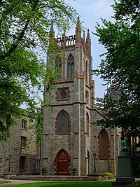 Университетская церковь, Фордхэм вход.jpg