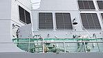 Upper deck right side of JS Fuyuzuki(DD-118) right side low-angle view at JMSDF Maizuru Naval Base July 29, 2017 01.jpg