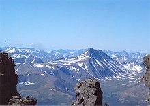 Veduta dei Monti Urali