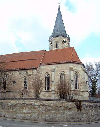 Urbach, Baden-Württemberg - The Afra Church