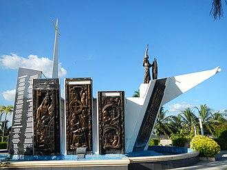 Andrés de Urdaneta - The Memorial stands in Urdaneta, Pangasinan ( a town named in his honor).