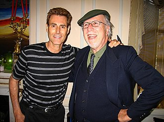 Jack Sarfatti - Uri Geller with Sarfatti (right), October 2006