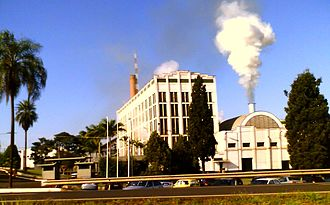 Ribeirão Preto - The Santa Elisa sugarcane processing plant, one of the largest and oldest in Brazil, is located near Ribeirão Preto.