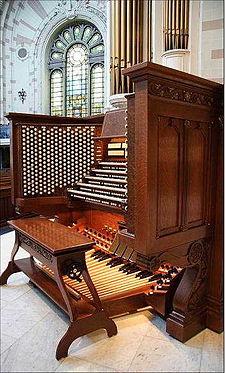 Organ Console Wikipedia