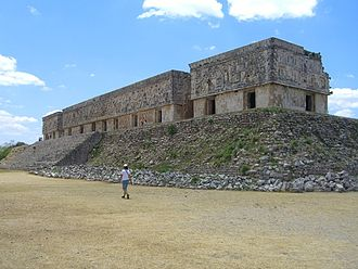 10th century in architecture - Image: Uxmal Palace of the Governor