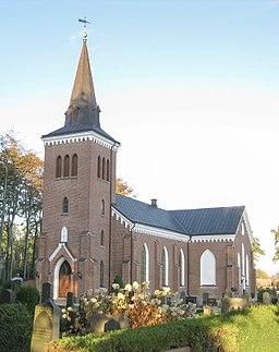 Vestbys kirke i oktober 2010