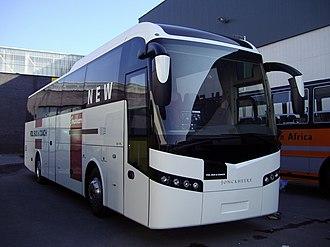 Jonckheere - A VDL Jonckheere SH touring coach at the Busworld 2007 exhibition in Kortrijk, Belgium.