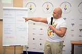 VIII Conference of LGBT movement in Ukraine 2015 — Svyatoslav Sheremet.jpg
