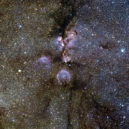 VISTA's infrared view of the Cat's Paw Nebula.jpg
