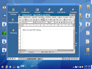 Virtual Network Computing - VNC in KDE 3.1