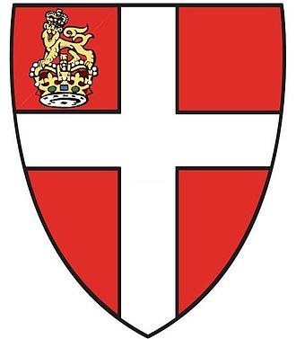 William Hunt (officer of arms) - Image: VOSJ Grand Priory Coat of Arms