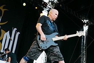 Thrashcore - Craig Setari of New York thrashcore band Straight Ahead.