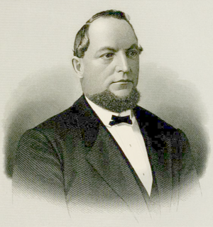 Valentin Blatz - 1877 portrait