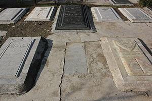 Badr al-Molouk - Badr al-Molouk's grave in Behesht-e Zahra