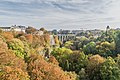 Valley of Petrusse river in Luxembourg City 01.jpg