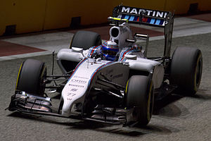 Valtteri Bottas - Bottas at the 2014 Singapore Grand Prix