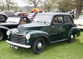 Vauxhall Wyvern ca 1949 at Weston Park.JPG
