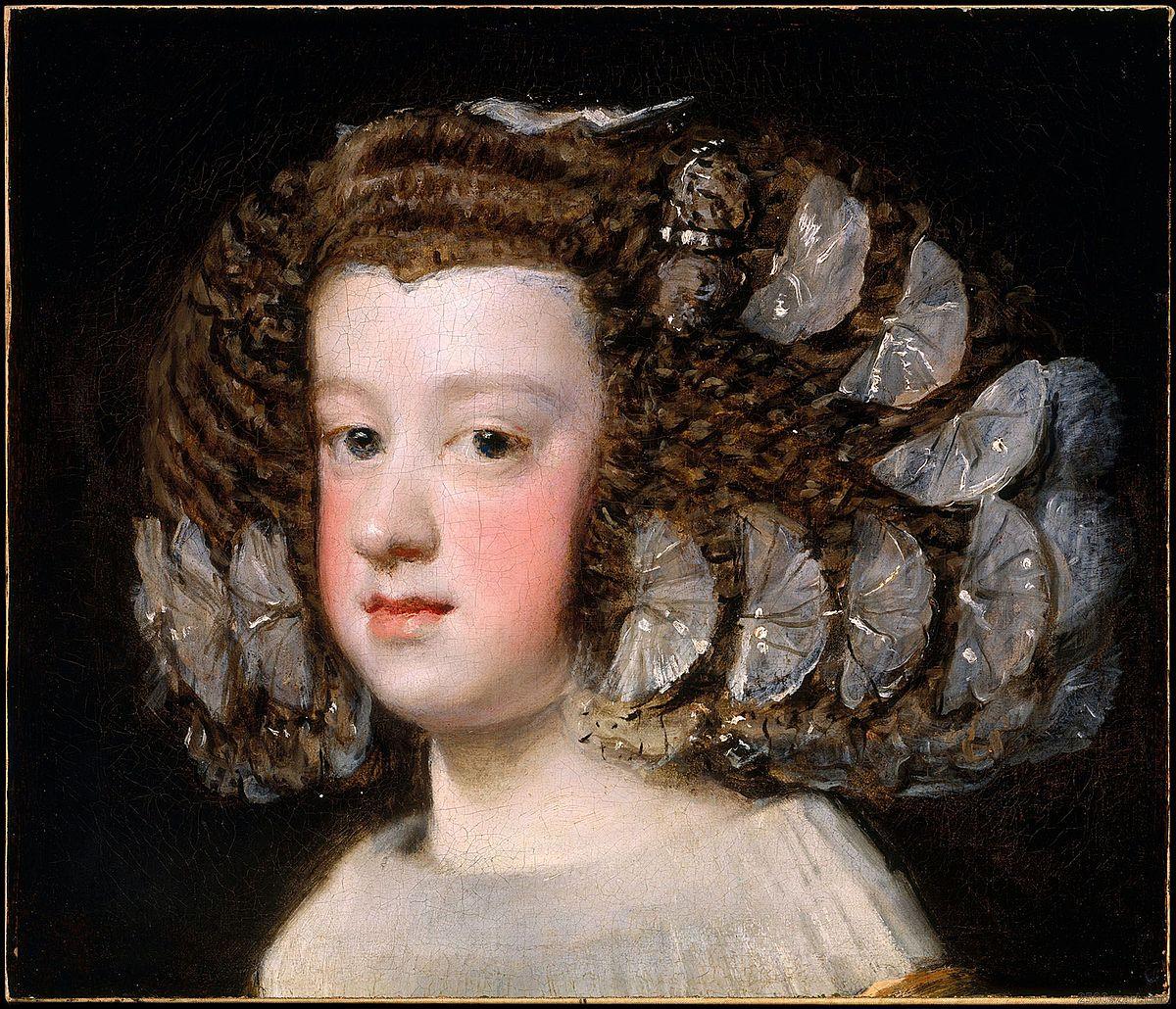Portrait de l\'Infante Marie-Thérèse (Vélasquez) — Wikipédia