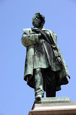 Manin from the 1875 monument by Luigi Borro in Venice.